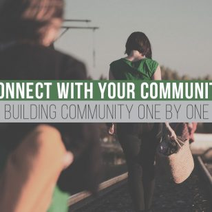 Building Community One By One
