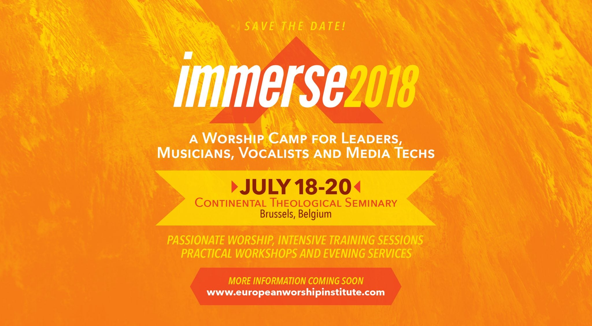 Announcing Immerse Worship Camp